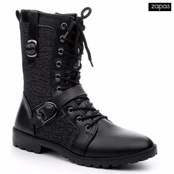 Giày Bốt Cổ Cao Thời Trang Zapas Giá Rẻ GB078