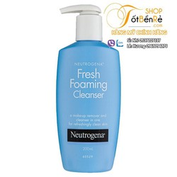 Sữa rửa mặt Neutrogena Fresh Foaming Cleaner 198ml
