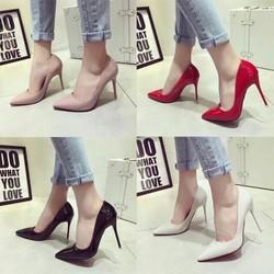 giày cao gót mũi nhọn gót nhỏ