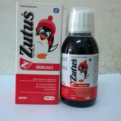 Siro giúp tăng miễn dịch Zutus immuno - Chiết xuất Quả Cơm Cháy