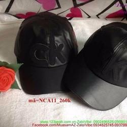Nón cặp tình nhân da quà tặng iu thương NCA11