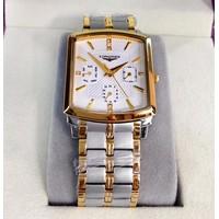 Đồng hồ giá rẻ dây inox sang trọng LG803-SG-6K