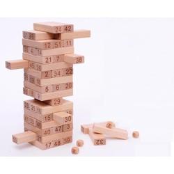 Đồ chơi rút gỗ số 48 thanh