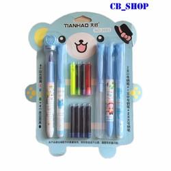 Bộ 5 bút máy viết mực cho học sinh