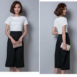 SET trang phục áo và quần Culottes thời trang - SET008