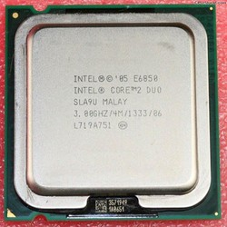 CPU Intel core 2 duo E6850