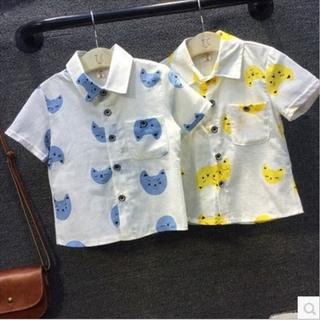 Áo sơ mi hàng nhập cho bé trai 1 đến 4 tuổi - VX581 hình thật - VX581 thumbnail