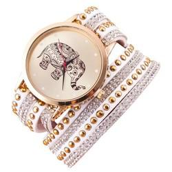 Đồng hồ cách điệu họa tiết chú voi xinh xắn