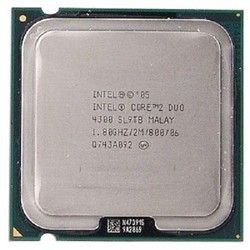 CPU Intel core 2 duo E4300