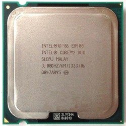 CPU Intel core 2 duo E8400