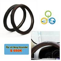 Bọc vô lăng Logo Hyundai