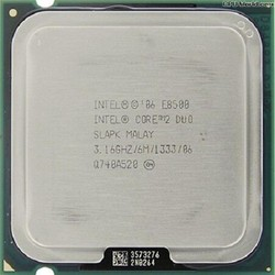 CPU Intel core 2 duo E8500