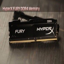 Ram PC KINGSTON 4GB BUS 2400 HyperX Fury