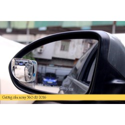 Gương cầu bán nguyệt xóa điểm mù ô tô