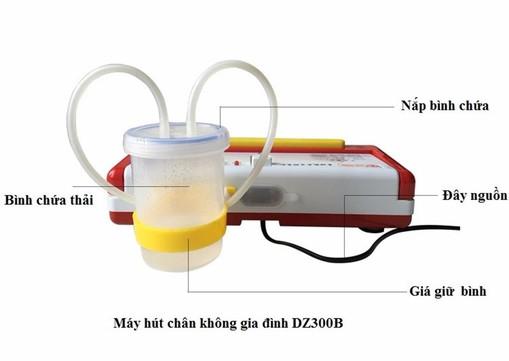 Máy hút chân không gia đình DZ300B 3