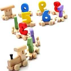 Đồ chơi gỗ dạng đoàn tàu số