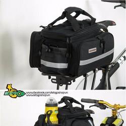 Túi baga xe đạp gọn nhẹ, mở rộng