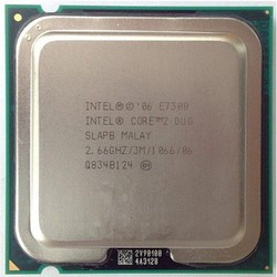 CPU Intel core 2 duo E7300