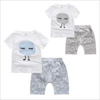 Bộ quần áo hè cao cấp cho bé trai từ 1 đến 4 tuổi - VX575