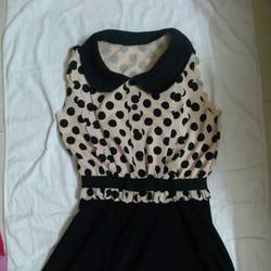 Đầm thời trang chấm bi