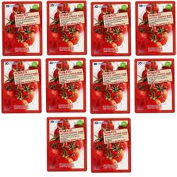 Set 10 miếng Mặt nạ dưỡng trắng da 3D cà chua Hàn Quốc