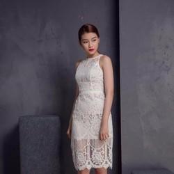 Đầm Body Ren Hoa Văn Cao Cấp