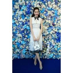 Đầm Ren Cao Cấp Giống Hoa Hậu Thu Thảo - DXM229