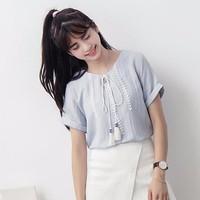 2 Màu - Áo kiểu nữ Hàn Quốc style Vintage - 2461