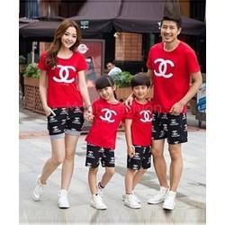 ComBo 4 Áo Thun Gia Đình Chanel DV323