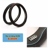 Bọc Vô lăng ô tô logo Audi