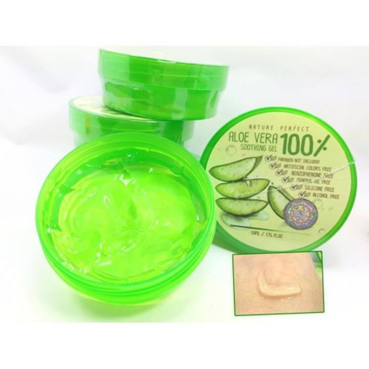 Nature Perfect Aloe Vera Soothing Gel  100 4