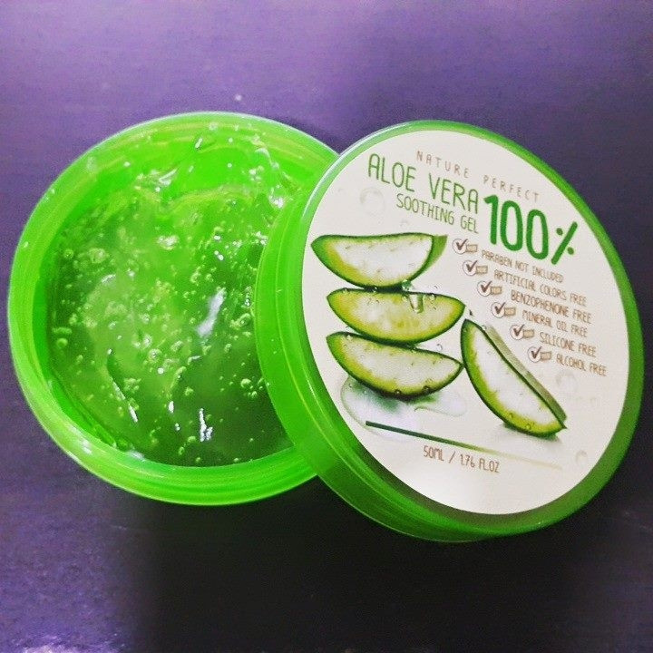 Nature Perfect Aloe Vera Soothing Gel  100 2