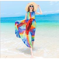 Váy maxi thời trang đi biển cao cấp - B061115