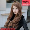 Tóc giả Hàn Quốc tóc mái thắt bím - TG53