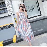 Váy maxi thời trang đi biển cao cấp - B061118