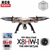 X8HW flycam cao cấp cỡ lớn tự cân bằng bay