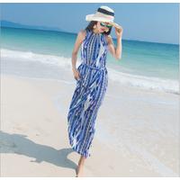 Váy maxi thời trang đi biển cao cấp -  B061120