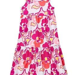 Đầm thun midi bé gái