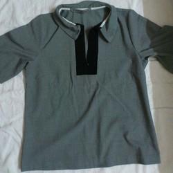 Áo thời trang màu xám