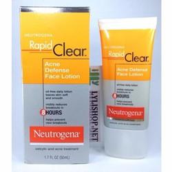 Sữa Rửa Mặt Trị Mụn Neutrogena Rapid Clear 175ml Từ Mỹ