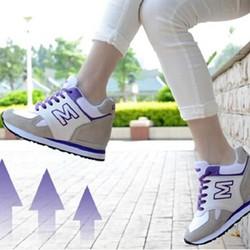 Giày Thể Thao Nữ Tăng Chiều Cao TT01_Tím