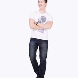 Quần Jeans Nam Viền Túi Thời Trang Cao Cấp - QHD01