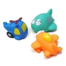 Bộ đồ chơi bồn tắm máy bay phun nước