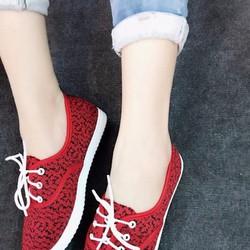 Giày cột nơ siêu xinh