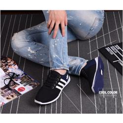 SA448 NEW - Giày thể thao phối màu 3 sọc