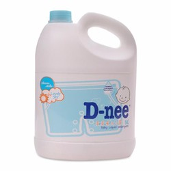 Nước giặt xả quần áo trẻ em D-nee 3000ml