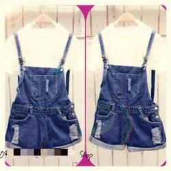 váy yếm jean xuất khẩu