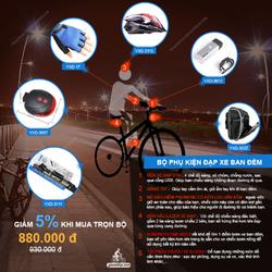 Bộ phụ kiện đạp xe ban đêm
