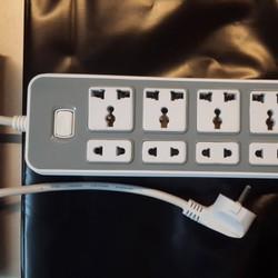 Ổ cắm điện khe USB 9lỗ điện, 2 lỗ usb