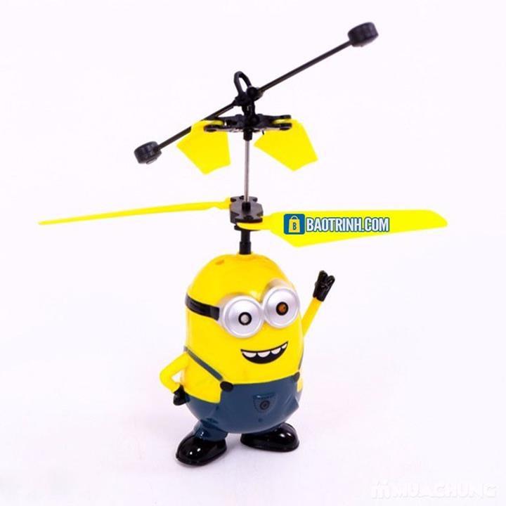 Máy bay cảm ứng Minion - có Remote 8
